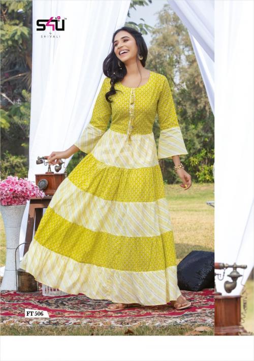 S4U Shivali Flairy Tales 506 Price - 875