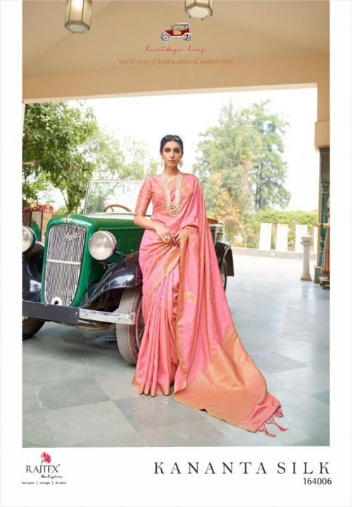 Rajtex Saree Kananta Silk 164006 Price - 1495
