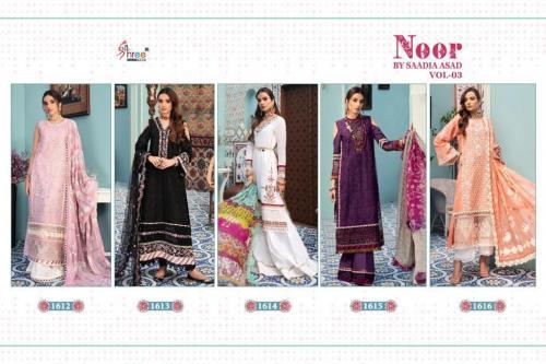 Shree Fab Noor By Saadia Asad 1612-1616 Price - 6245