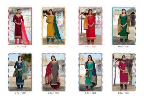 Kessi Fabrics Rajgharana 5761-5768 Price - 7592
