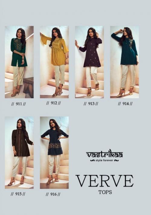 Vastrika Verve Tops 911-916 Price - 2790