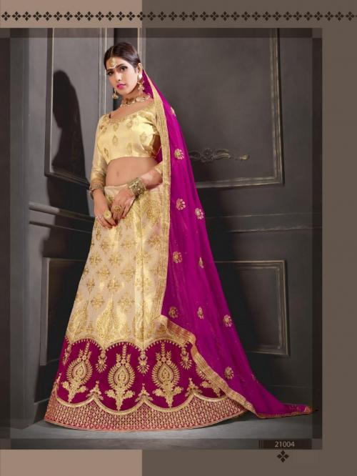 Natraj Lehenga Sangeetha 21004 Price - 1500