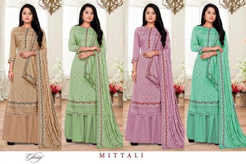 Glossy Mitaali Colors  Price - 6180