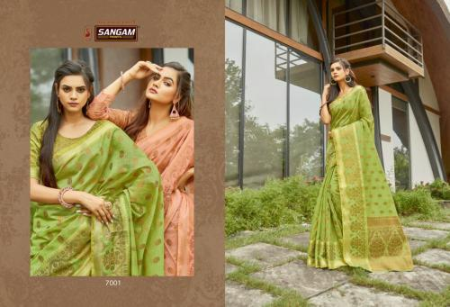 Sangam Prints Desi Hendloom 7001-7006 Series