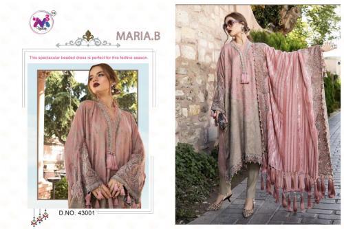M3 Fashion Maria B 43001-43003 Series
