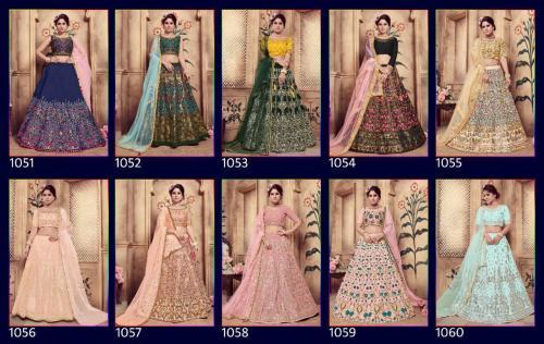 Khusboo Lehenga Girly 1051-1060 Price - 30000