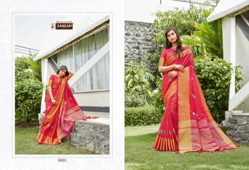 Sangam Prints Padamshree 5001-5006 Series