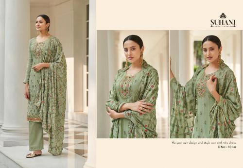Mohini Fashion Suhani 101 Colors