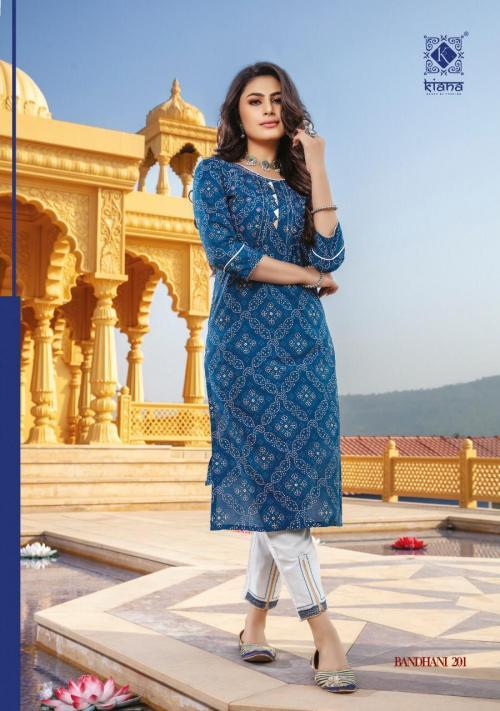 Kiana House Of Fashion Bandhani Vol-2 201-208 Series