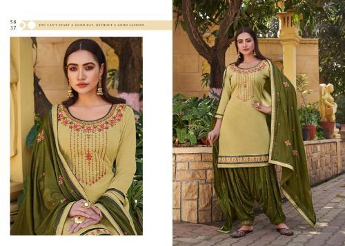 Kessi Fabrics Sitara By Patiyala House 5837 Price - 896