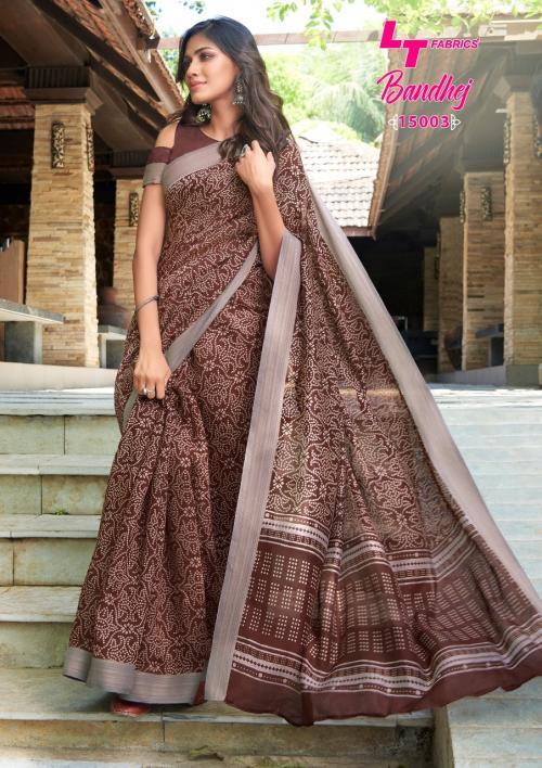 LT Fabrics Nitya Bandhej 15003 Price - 655