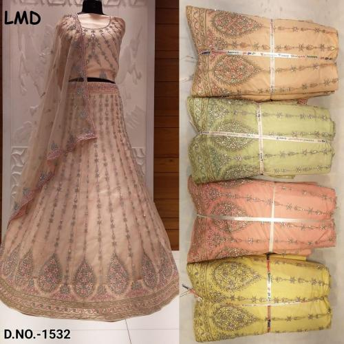 LMD Lehenga 1532 Price - 5075