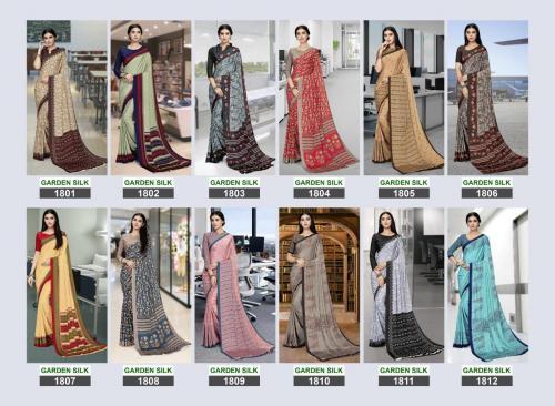 Bansi Fashion Garden Silk 1801-1812 Price - 8700