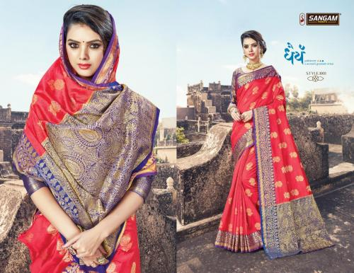 Sangam Saree Mehandi 1001-1006 Series
