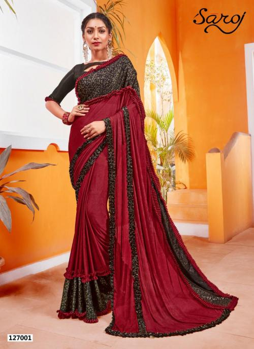 Saroj Saree Sandalwood Vol 4 127001-127006 Series