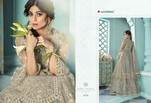 Aashirwad Creation Shaheen 8318 Price - 2895