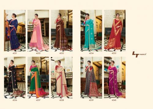 LT Fabrics Rubina 4231-4240  Price - 6950