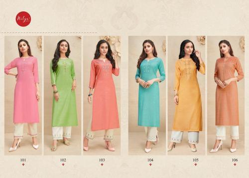 Lt Fabrics Shanaya 101-106 Price - 4620
