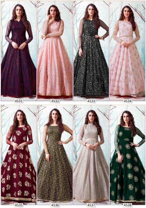 Shubhkala Flory 4531-4538 Price - 8800