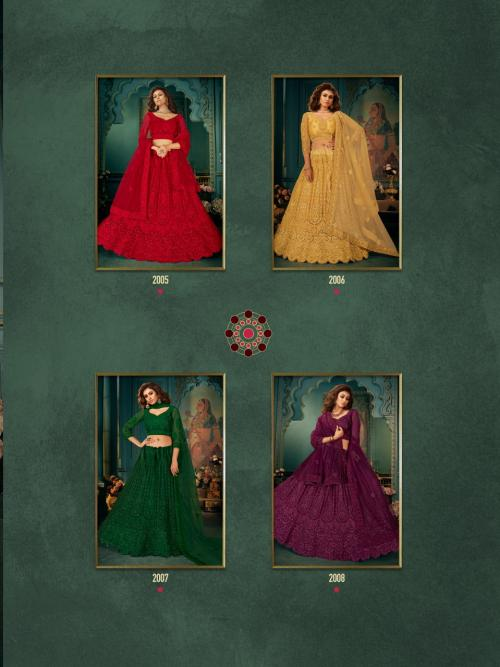 Senhora Indian Queen Bridal Heritage 2005-2008 Price - 22380