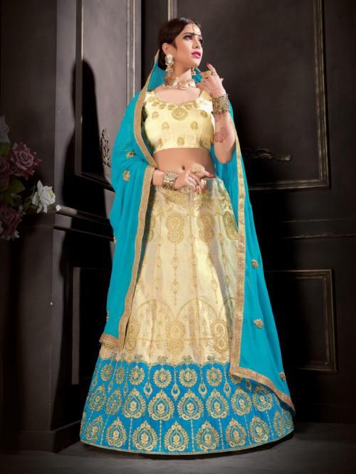 Natraj Lehenga Sangeetha 21005 Price - 1500