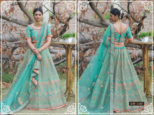 Peafowl Vol-76 Bridal Lehenga 1127 Price - 3533