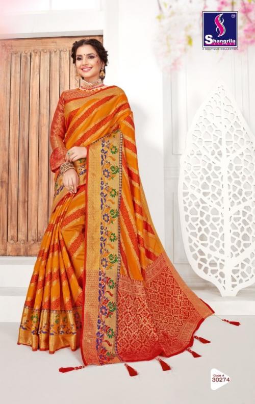 Shangrila Saree Jeevika Silk 30274 Price - 1105