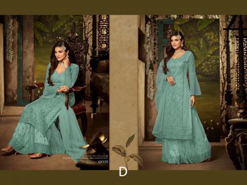 Mohini Fashion Glamour 61005 D Blue