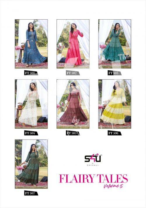 S4U Shivali Flairy Tales 501-507 Price - 6125