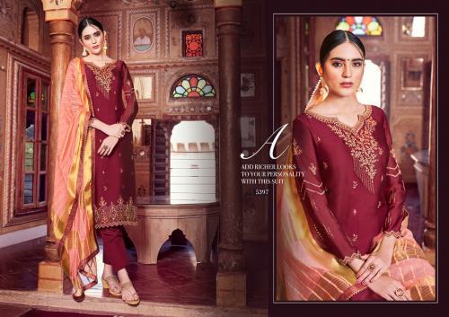 Kessi Fabrics Shubharambh 5397