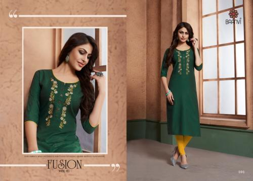 R Studio Baanvi Fusion Vol-1 101-106 Series