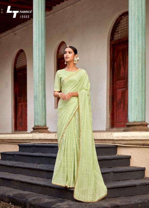 LT Fabrics Nitya Khara Kapas 10003 Price - 1195