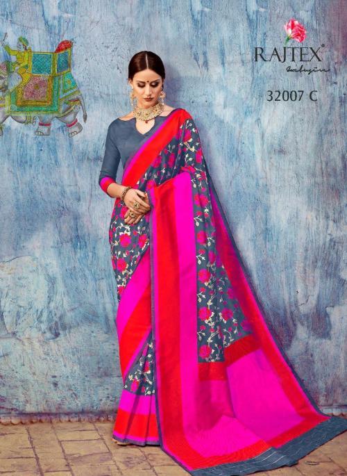 Rajtex Saree 32007 C Price - 1775