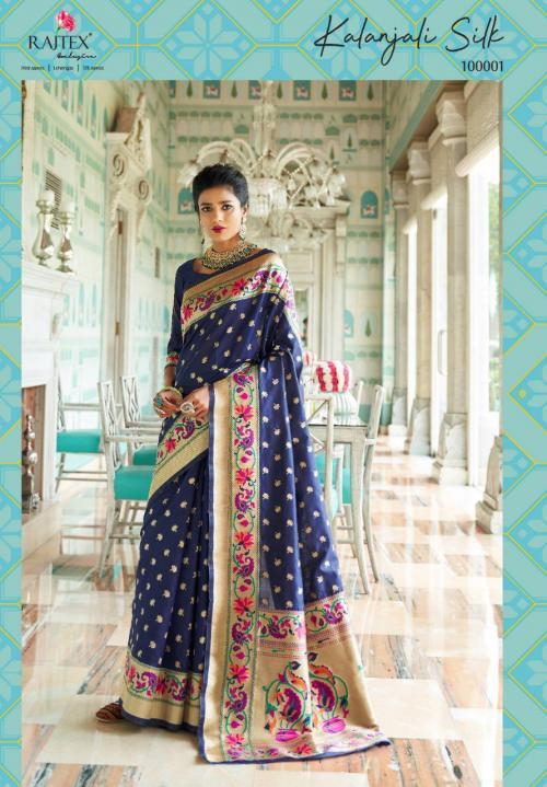 Rajtex Kalanjali Silk 100001-100006 Series