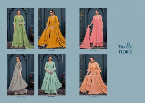 Maisha Maskeen Floris 3301-3306 Price - 9750