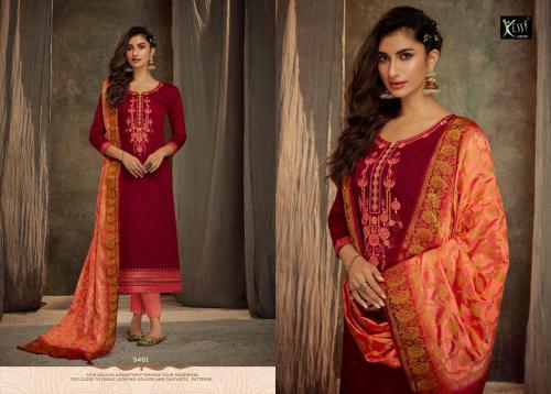Kessi Fabrics Ashopalav Vol-13 5401-5408 Series