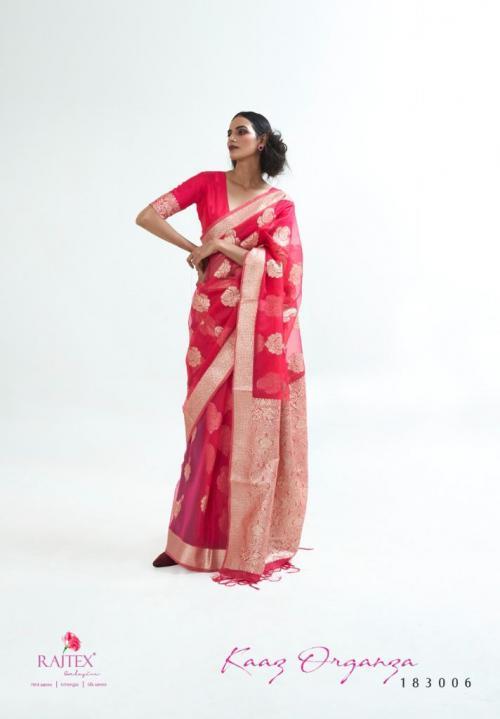 Raj Tex Kaaz Organza 183006 Price - 1725