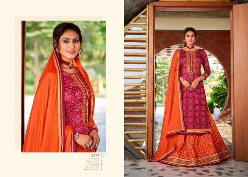 Kessi Rangoon Red Cherry Vol-2 2971-2974 Series