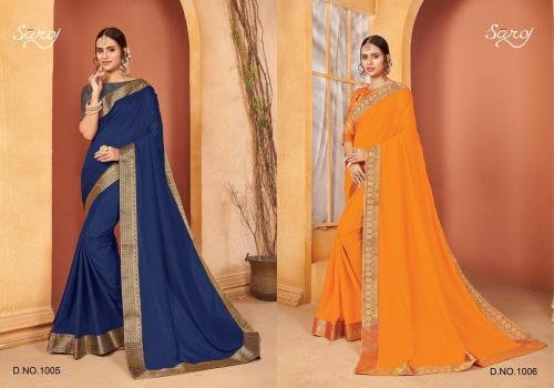 Saroj Saree Quality 1005-1006 Price - 1290