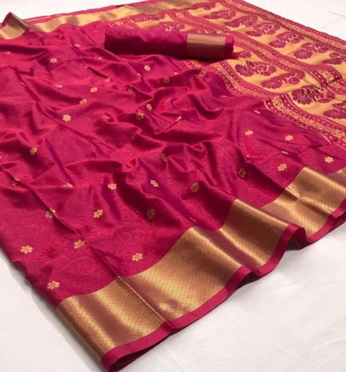 Rajtex Saree Kanjeepuram Silk 147001 Price - 1245
