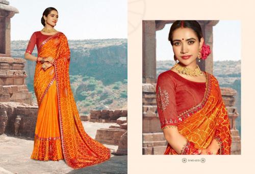 Kessi Fabrics Bandhej 4233 Price - 1199