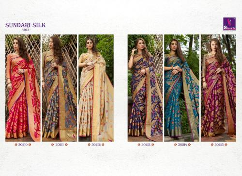 Shangrila Saree Sundari Silk 30210-30215 Price - 6630