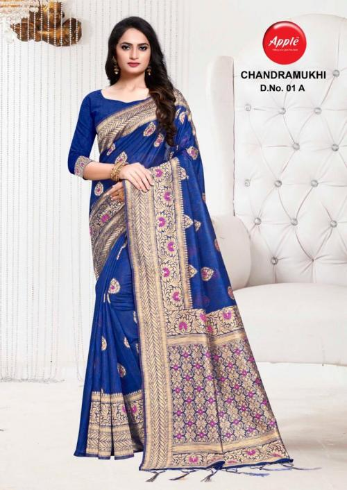 Apple Saree Chandramukhi 01 A-01 F Series