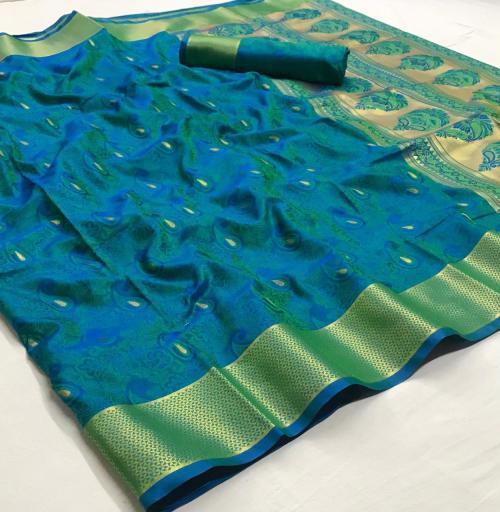 Rajtex Saree Kanjeepuram Silk 147005 Price - 1245