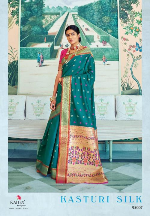 Rajtex Kasturi Silk 95007 Price - 1295