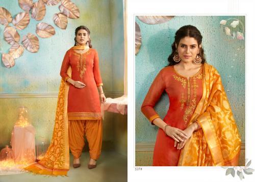 Kessi Fabrics Silk Patiyala 5374 Price - 999