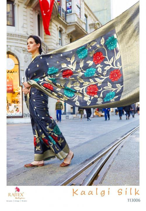 Rajtex Saree Kaalgi Silk 113006 Price - 1560