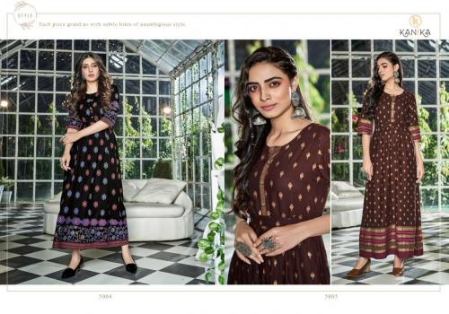 Kanika Fashion Aarohi 5004-5005 Price - 1190