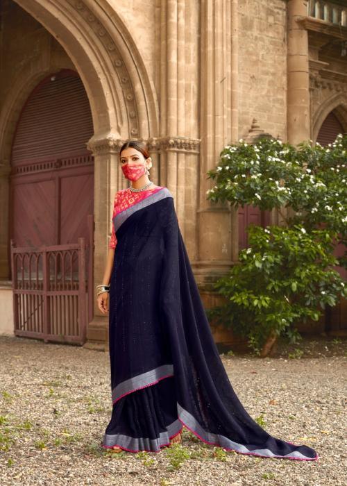 LT Fabrics Ananta Silk 7009 Price - 1195