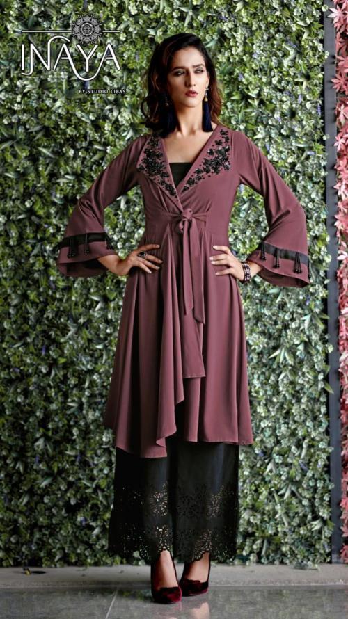 Studio Libas Inaya Luxury Eid Collection 23 Kurti Plazzo